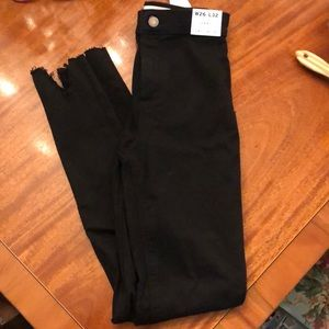 Black jeans from Topshop